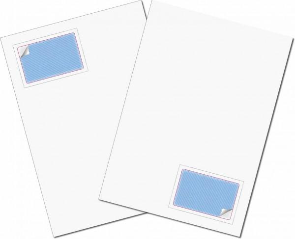Gather Magnet Karte - Briefbogen mit Integrierter Karte 85x54mm