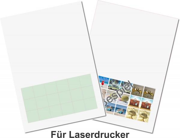 Gedächtnisspiel 30 x 30 mm, A4 Bogen, 18 Stück für Laserdrucker