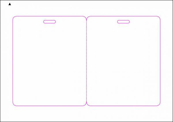 Zugangsausweis-Etiketten 90x1210 mm, DIN A5, weiss, matt, permanent klebend - SE70-15760P