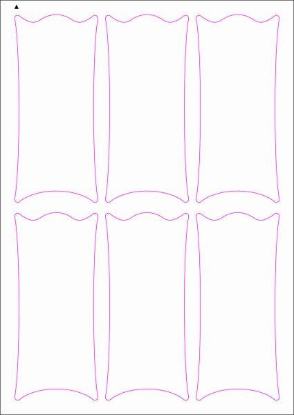 Weinflaschenetiketten 60x135 mm, DIN A4, Papier oder PE-Folie, weiss, matt, permanent klebend - SE70-09408P