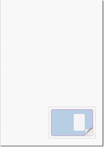 Gather PractiCard Foto - Briefbogen mit Integrierter Karte 85x54mm