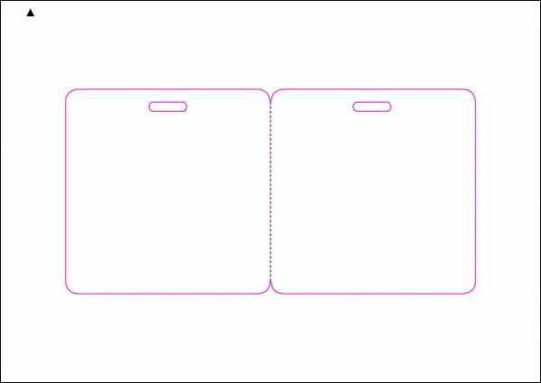 Zugangsausweis-Etiketten 80x80 mm, DIN A5, weiss, matt, permanent klebend - SE70-15500P
